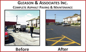 Before and After Results of Asphalt Repair